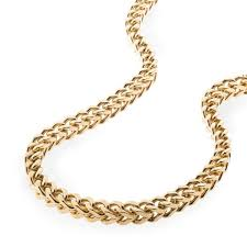 box chain gold necklace images Gold stainless steel franco cuban box chain necklace spicyice jpg