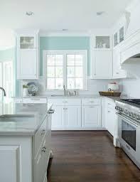 wall kitchen white cabinets profile cabinet and design blue kitchen walls kitchen