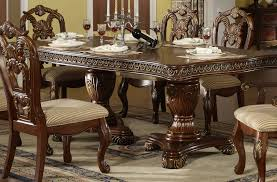 decor formal dining room sets with furniture from oak carved with