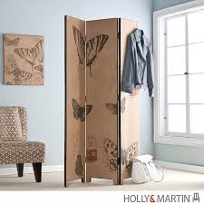 furniture classy brown bead curtain room divider screen for
