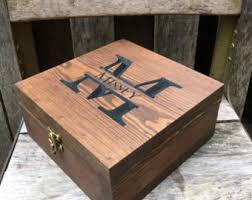 personalized wooden keepsake box gift box keepsake box gift for men groomsmen box