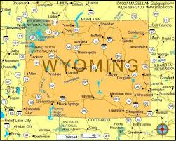 map usa showing wyoming map of wyoming became a state on july 10 1890 it was the 44th