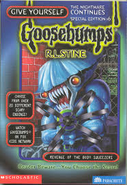 Goosebumps Cuckoo Clock Of Doom Hold On To Your Horses As These Monsters From Goosebumps Are Ready