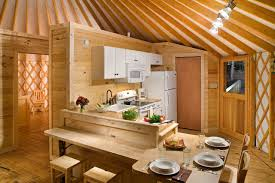 interiors for kitchen yurt interiors pacific yurts