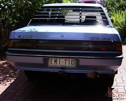 mitsubishi pickup 1990 magna tp glx 1990 4d sedan 4 sp automatic 2 6l carb in dandenong