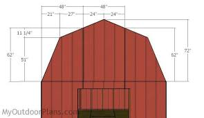 how to build a barn style roof barn style roof angles 12x16 gambrel shed roo 34689 evantbyrne info
