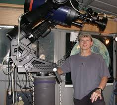 Backyard Astronomer Shelton Man U0027s Backyard Telescope Lets Him Photograph Heavenly
