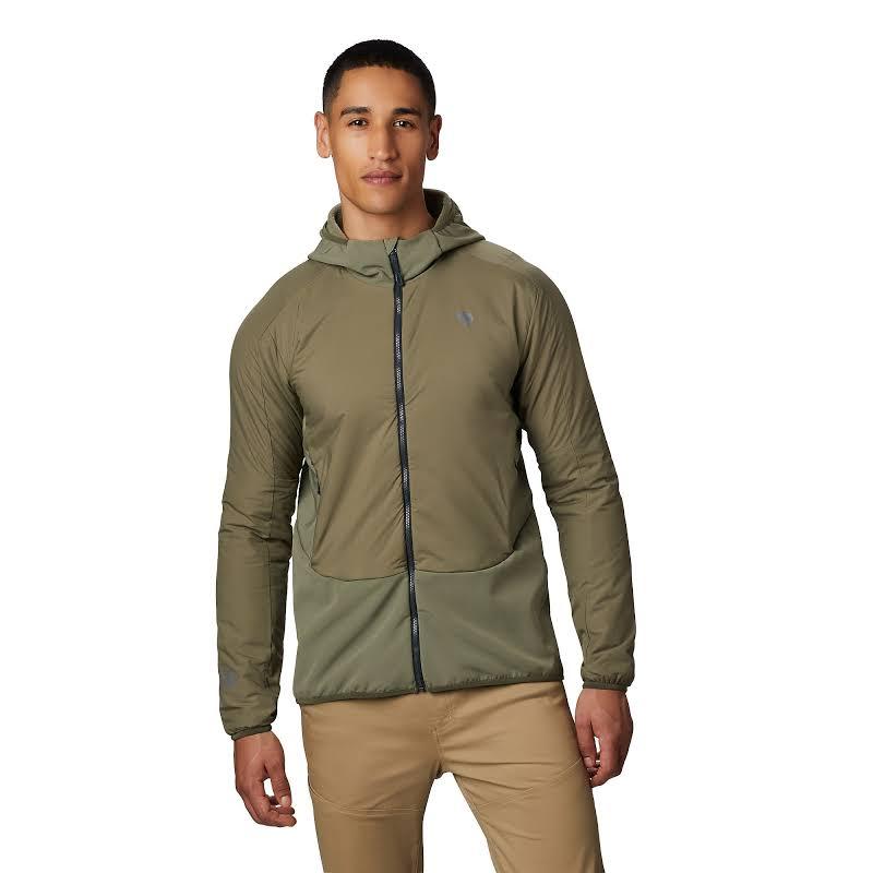 Mountain Hardwear Kor Strata Climb Jacket Light Army Small 1851521333-S