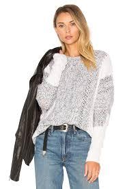 Autumn Cashmere Rib Drape Cardigan Autumn Cashmere Cable Drape Autumn Cashmere Color Block Sweater