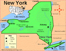 map of new york enchanted learning new york progressive activism
