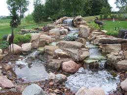 Backyard Waterfalls Ideas Backyard Backyard Waterfalls Ideas