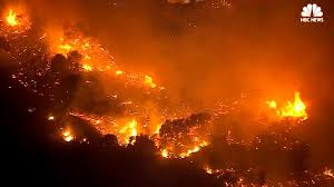 Wildfire California Video by Aerial Video Shows Widespread California Wildfires Nbc News