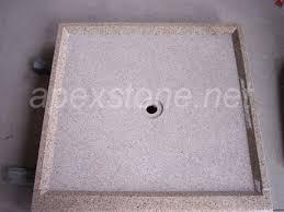 granite marble travertine custom shower pans liner