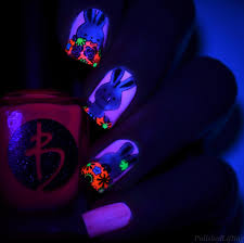 polished lifting neon spring bunnies featuring bliss polish and