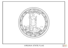virginia state flag coloring page free printable coloring pages