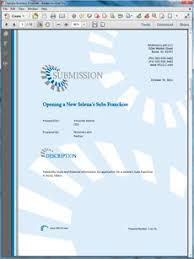 buying a vending franchise sample proposal create your own