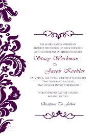 wedding invitation wedding invitation templates invitations
