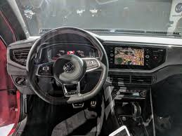 volkswagen sedan interior 2017 vw polo gti interior live image indian autos blog