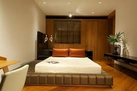 Curtain Beds Contemporary Bedroom Curtain Ideas Orange Wall Brown Velvet Bed