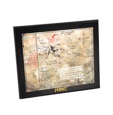 map hobbit the hobbit thorin oakenshield map by the noble collection pink