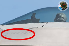 the aviationist f 22 raptor stealth fighter sports low