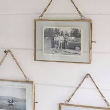 classic wooden hanging picture frame design come with square
