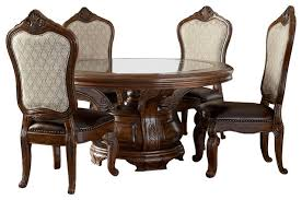 Victorian Dining Chairs Table Victoria Palace 7 Piece Dining Set Victorian Sets Pertaining