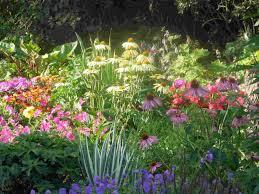 simple wildflower garden design ideas with small flower garden
