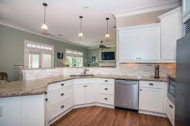kitchen furniture atlanta atlanta shaker style kitchen update from cherry to white
