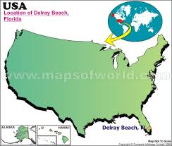 map of delray where is delray florida