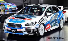 crashed subaru wrx 2015 subaru wrx sti rally racecars