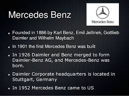 who is the founder of mercedes german automobiles arise roby