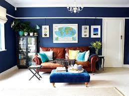 Plaid Living Room Furniture Blue Living Rooms Navy Blue Living Room With Leather Sofa Blue