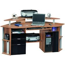 Metal Computer Desk With Hutch by All Wood Computer Desks For Home 15 Excellent All Wood Computer