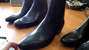 cuban heel boots for men youtube