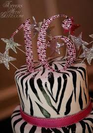 16 cake topper toppers with glitz sweet sixteen cake topper ruby