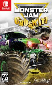monster truck show video amazon com monster jam crush it nintendo switch standard