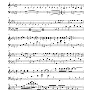 Chandelier Sia Piano Sheet Music Sia Chandelier Sheet Music