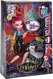 Howleen Wolf 13 Wishes Monster High 13 Wishes Gigi Grant 10 5 Doll Mattel Toys Toywiz