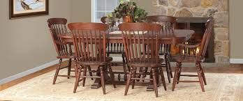Oak Dining Room Solid Oak Dining Chairs Amish End Tables Dining Room Table