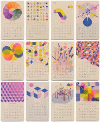 design wall calendar 2015 22 modern calendars for 2016 design milk