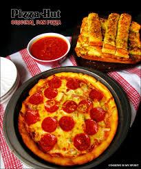 domino pizza hand tossed pizza hut original pan pizza copycat recipe cooking is my sport