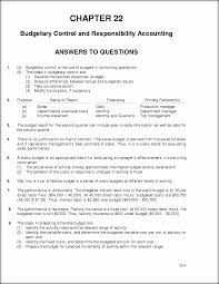 chapter 22 solutions chapter 22 budgetary control and