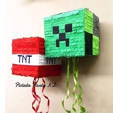 minecraft pinata piñata party kl pinatapartykl instagram photos and