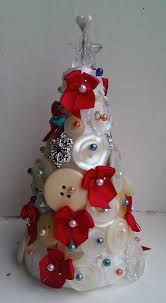 handmade button tree decoration life in the thrift lane