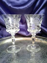 blown glass wine glasses hand blown recycled glass wine glasses