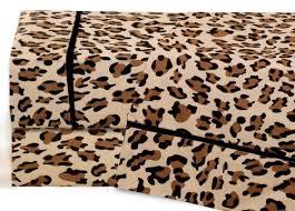 Cheetah Print Comforter Queen Amazon Com Full Leopard Print Cotton Sheet Set Home U0026 Kitchen