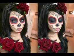 Sugar Skull Halloween Costumes 20 Sugar Skull Makeup Ideas Sugar Skull