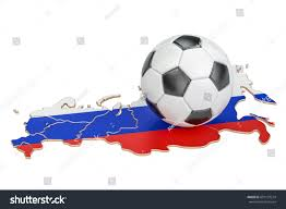 russia football map football map russia concept 3d stock illustration 691137214