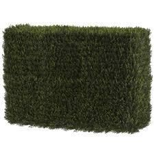 nearly natural artificial decorative cedar hedge indoor outdoor